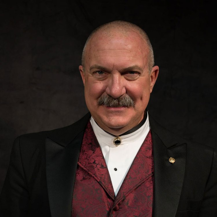 Dr. Gary P. Gilroy, Professor of Music and Director of Bands at California State University, Fresno.