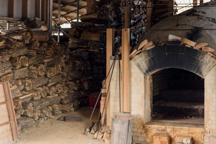 Anagama wood kilns, Nejitate. By Todd Sharp