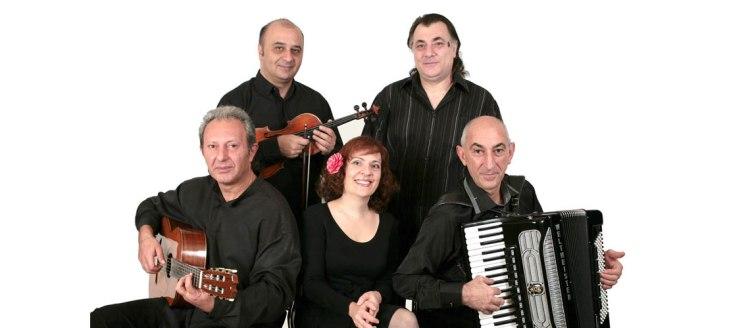 Cadence Ensemble - Varazdat Khachumyan, Violin; Hakob Jaghatspanyan, Guitar; Meruzhan Yeganyan, Accordion; Sofi Mikayelyan, Piano; and Gurgen Amiryan, Contrabass