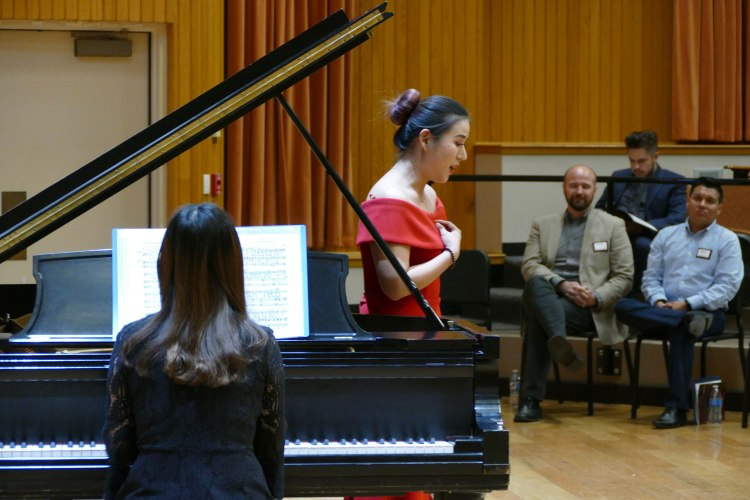 """Un Bel di Vedremo"" from Madama Butterfly by Puccini is performaed by Yuxi Liu, Soprano and Zhuoxin Yang, Pianist"