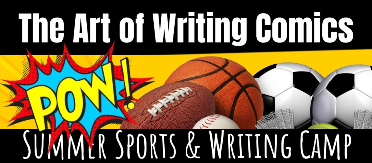 Youth summer camp teaches writing through sports and comics