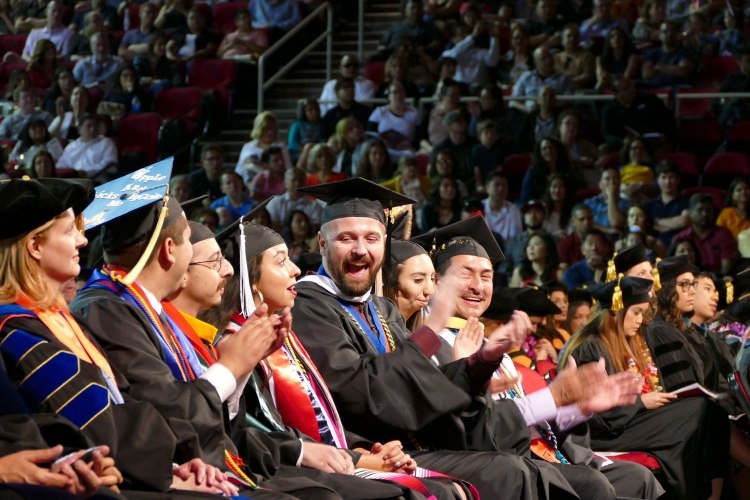 Primavera Leal Martinez is announced as the undergraduate President's Medal recipient.
