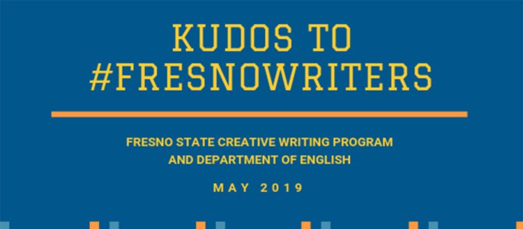Kudos to #FresnoWriters