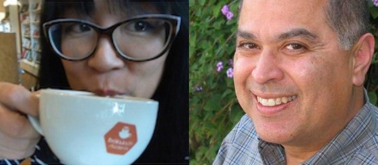 Ryka Aoki and Daniel Olivas