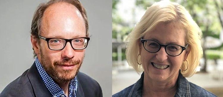 Dr. Sergio La Porta and Dr. Kathleen Godfrey