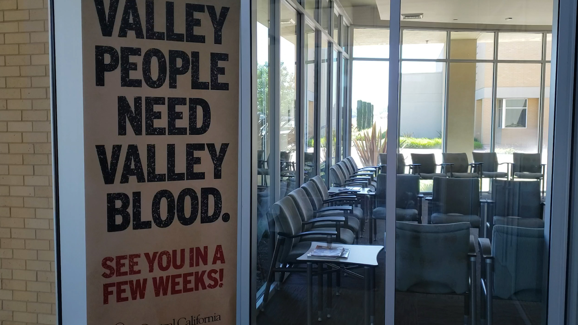 See you in a few week! Valley Blood Center Image.
