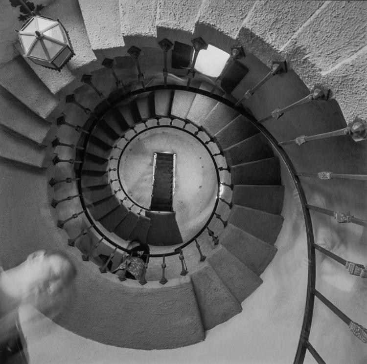 Spiral Way, 2004, Gelatin silver print