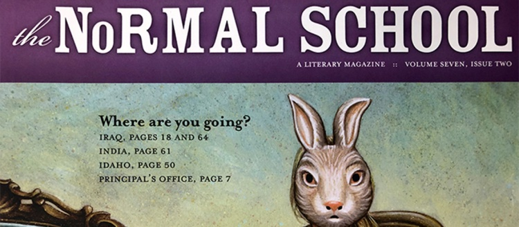 The Normal School magazine cover