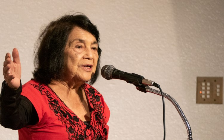 Dolores Huerta, President and Founder of the Dolores Huerta Foundation