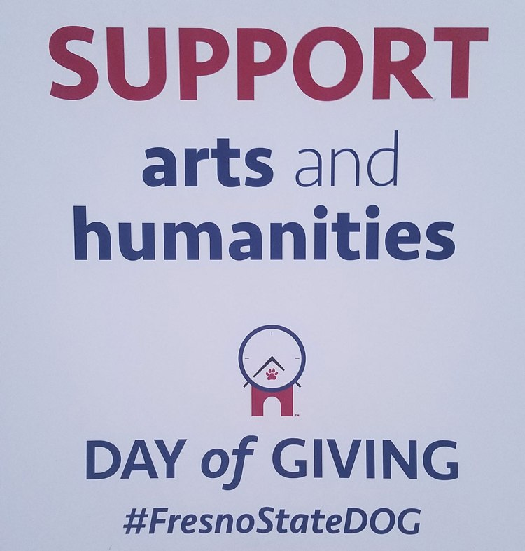 Support Arts and Humanities on Day of Giving