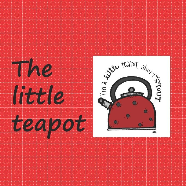 "Logo of the shop ""The Little Teapot"" by Maria Dolores Morillo"