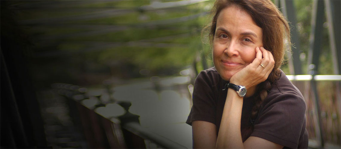 Author and U.S. Young People's Poet Laureate Naomi Shihab Nye
