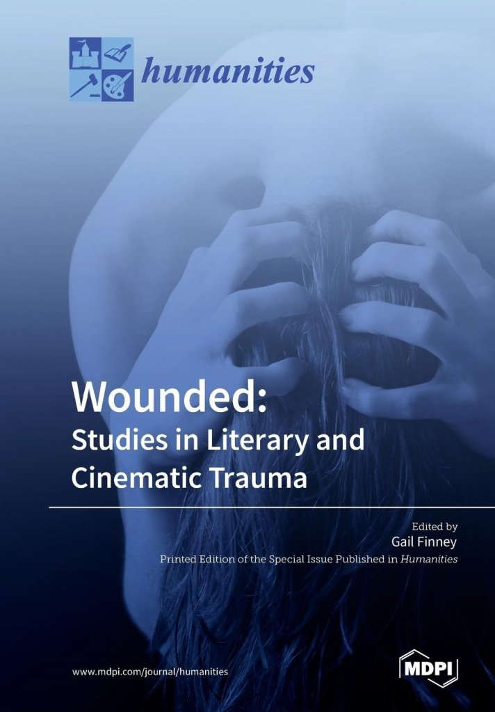 "Book cover of ""Wounded: Studies in Literary and Cinematic Trauma"""
