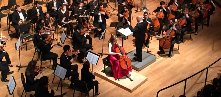 Emma Hill and the Fresno State Symphony Orchestra
