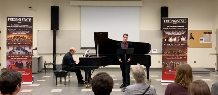 """So Together"" by Christian Cruz: Christopher Rodriguez, baritone, Drew Quiring, piano"