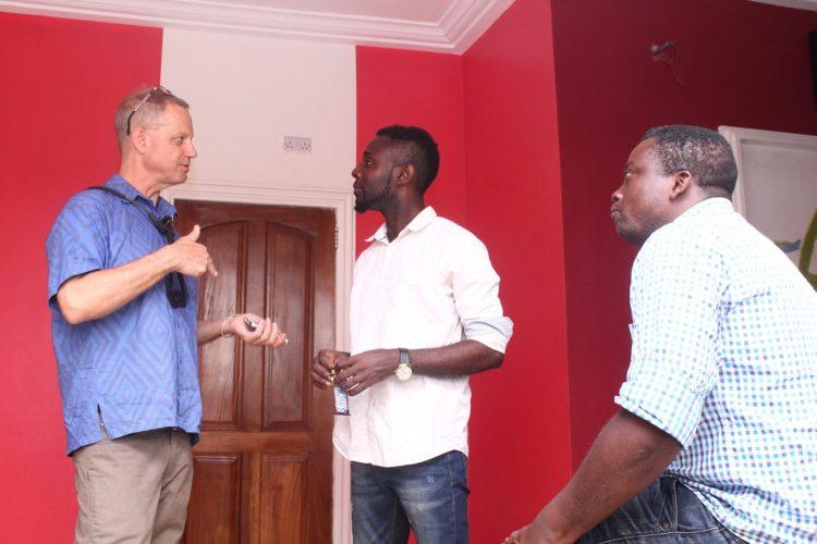 Benjamin Boone, Frank Kissi, Bernard Ayisa, UVSL Studio, Accra