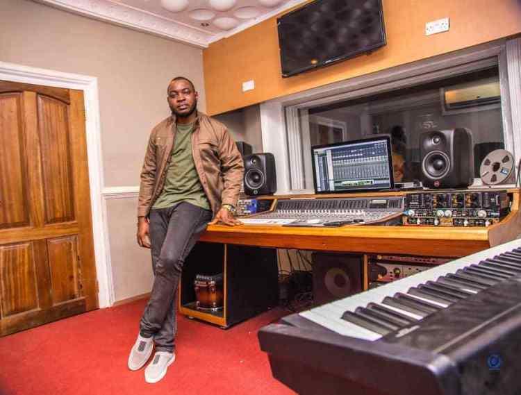 Engineer Hubert Kofi Anti (uBeatz) UVSL Studio Accra