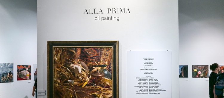 Alla Prima Oil Painting showcase during 2019 CSU Summer Arts at California State University, Fresno