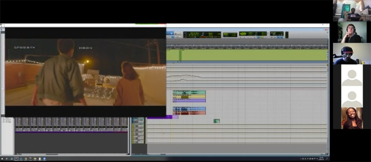 "Los Angeles based composer and Fresno State alumnus Robert Allaire demonstrates how he composed and scored a scene in the short ""Press Start"" in a Zoom based masterclass."