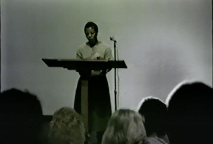 Sherley Anne Williams - February 5, 1986, in the Conley Art Auditorium (CA 101)