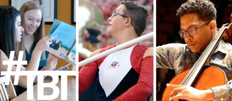 Kelsi Stieler, Kaylee Gutierrez, and Kristin Bonillas; Jen Rhodes; Kelvin Diaz