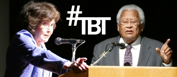 #TBT - Dr. Mary Elizabeth King and Rev. James M. Lawson Jr.