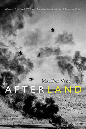Afterland by Mai Der Vang book cover.