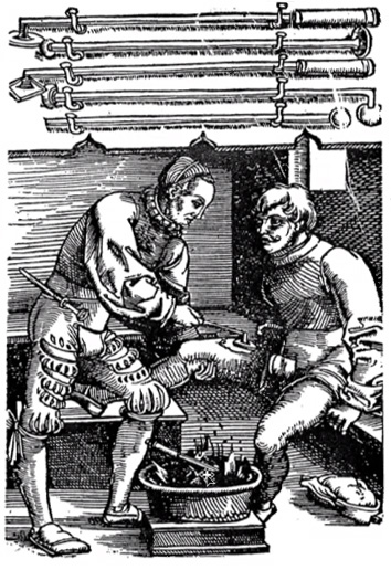 """Medieval cautery was used to cauterize wounds, but also to """"melt"""" the image of the object of desire from the love sick mind."""