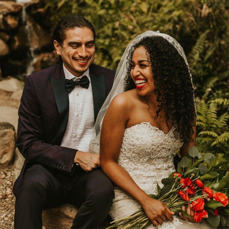 Daniel Chavez and Kaelyn Rodríguez wedding photo