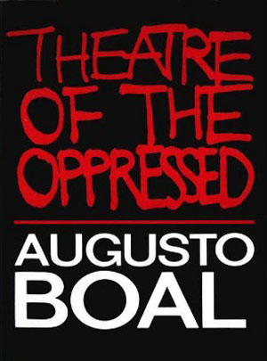 Theatre of the Oppressed by Augusto Boal book cover
