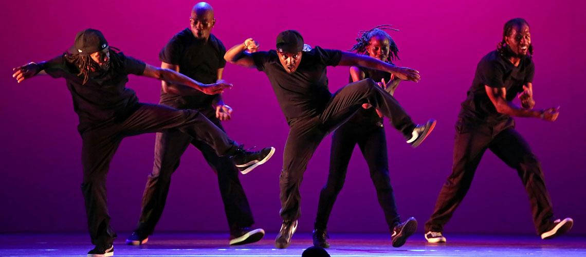 Hip Hop Dancers perform at CSU Summer Arts festival