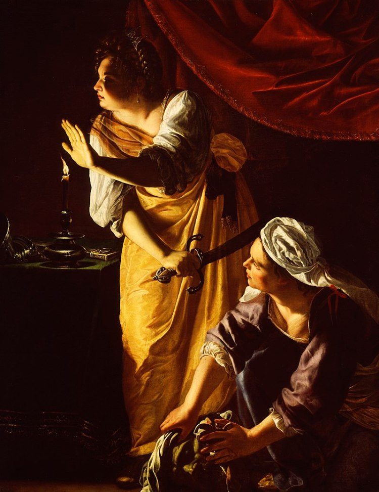 Artemisia Gentileschi - Judith and Her Maidservant with the Head of Holofernes - 52.253 - Detroit Institute of Arts