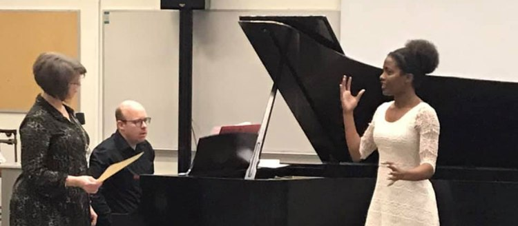 Aaleyah Wilson at Robin Fisher Masterclass 3rd Festival 2020