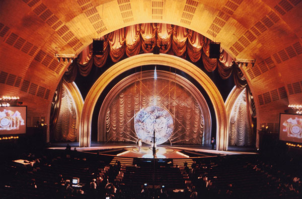 Tony Awards set designed by Roy Christopher.