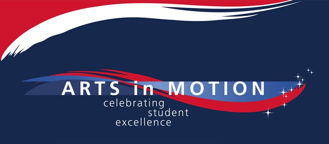 Arts in Motion logo -