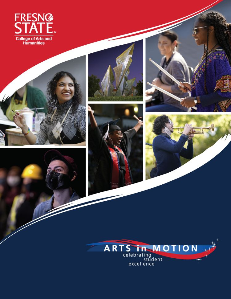 Arts in Motion Program cover - Please download the 2021 Arts in Motion Program PDF for accessibility options