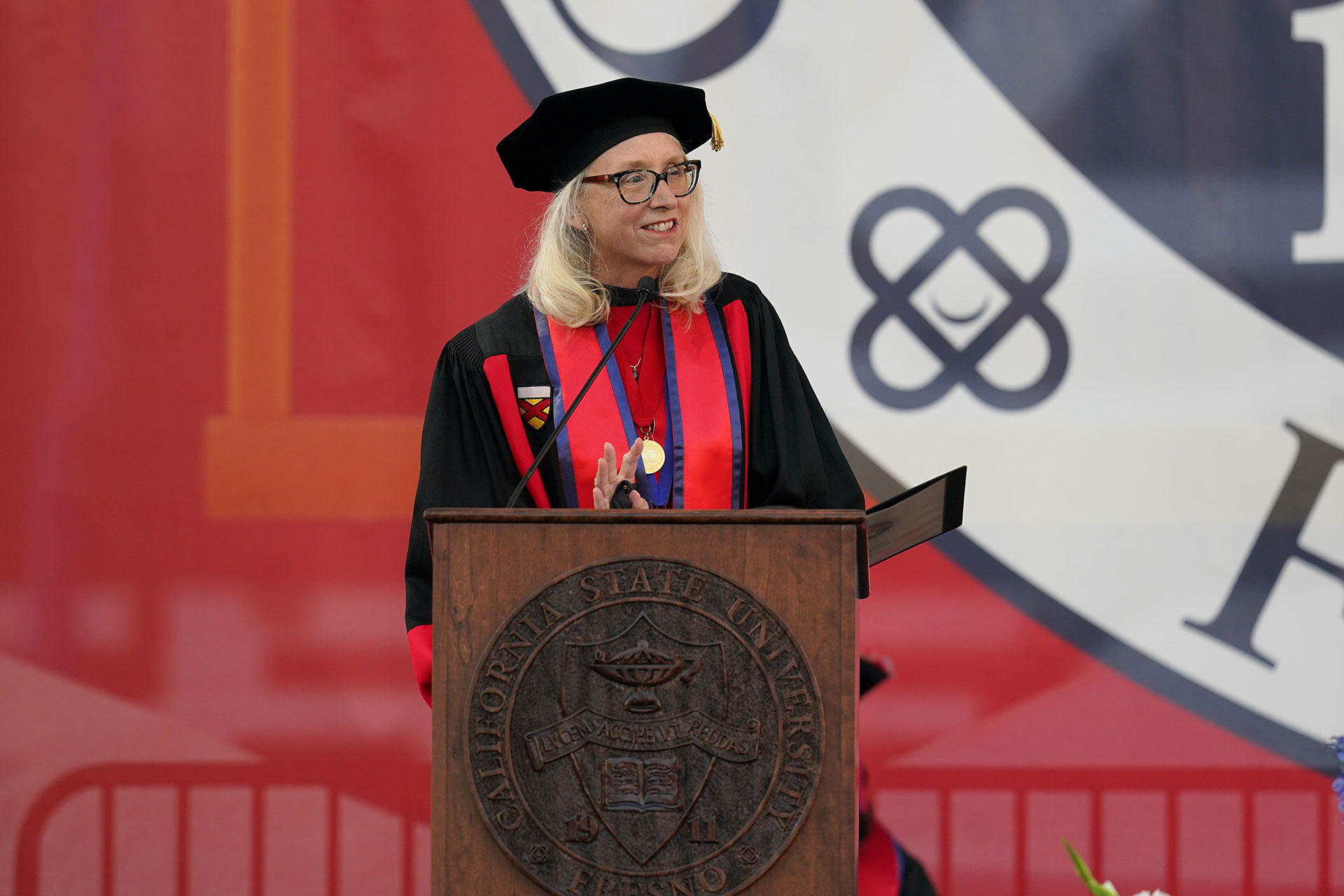 Dr. Honora Chapman, Dean of the College of Arts and Humanities. Photo by Cary Edmondson