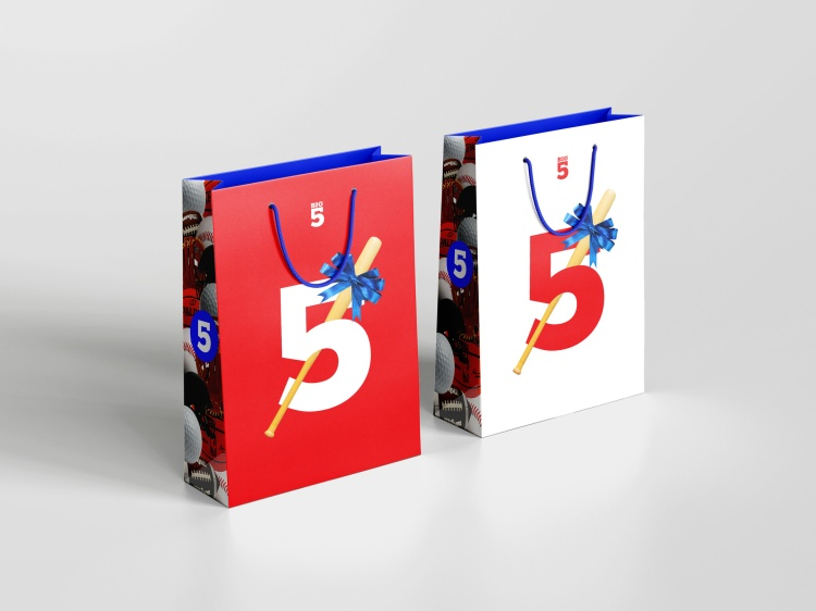 Sales and Marketing – Sales Promotion - Packaging Silver – Big 5 Shopping Bags Angel Rodriguez