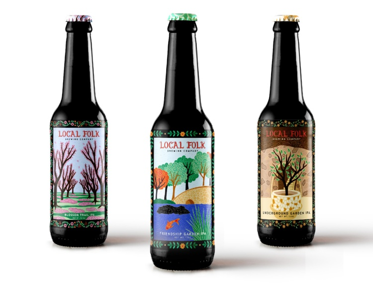 Sales and Marketing – Sales Promotion - Packaging Silver – Local Folk Brewery Ipa Packaging Brianna Ozuna