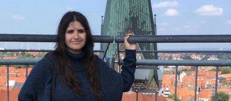 Edith Gonzalez, Wasserturm in Lüneburg, Germany