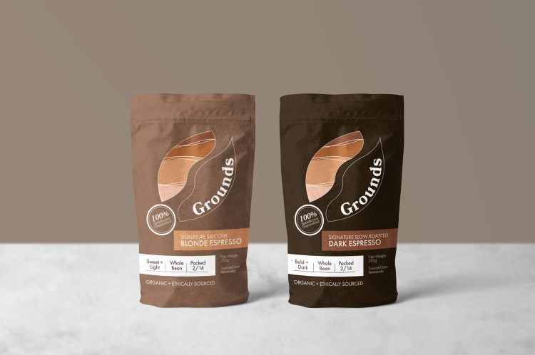 Sales & Marekting – Sales Promotion - Packaging Silver – Grounds Coffee Emily O'masters