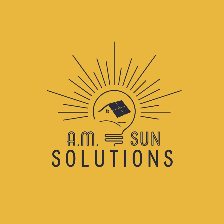 Elements Of Advertising – Visual – Logo Design Silver – Am Sun Solutions Logo Kelsey Smith
