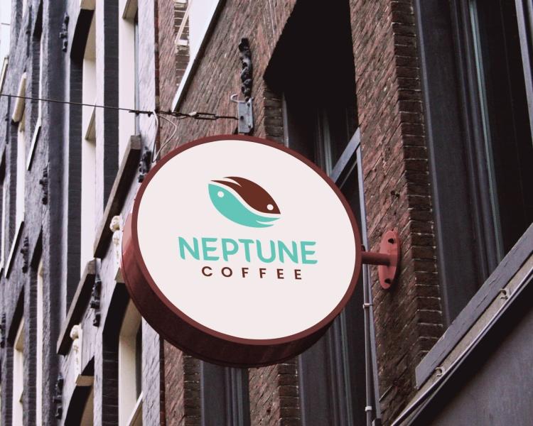Elements Of Advertising – Visual – Logo Design Silver – Neptune Coffee Monica Sousa