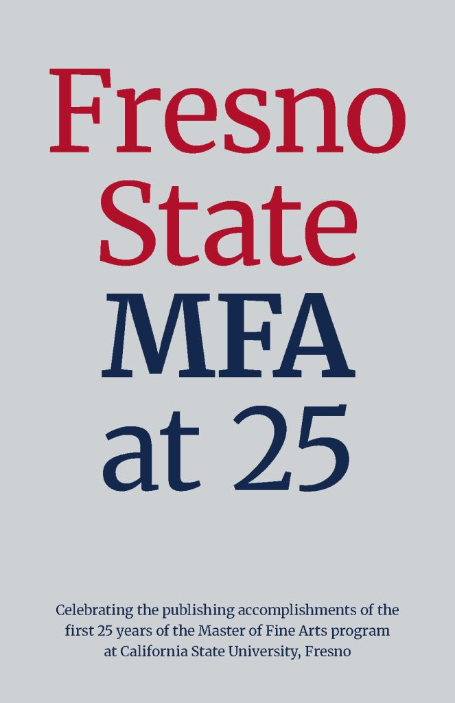 Fresno State MFA at 25 - Cover page