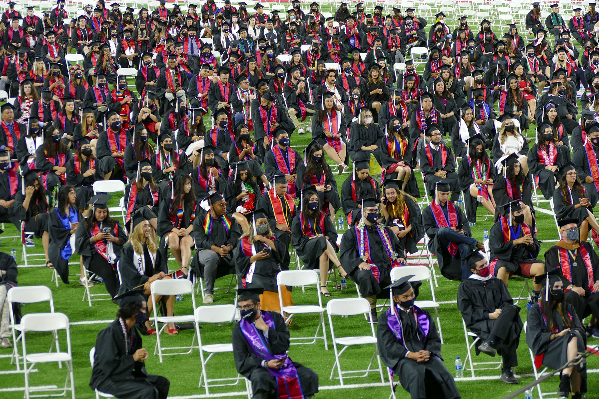 College of Arts and Humanities graduates.