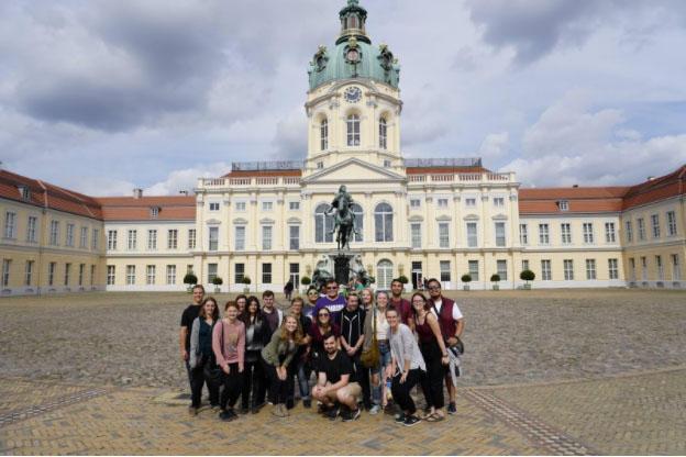 Charlottenburg Schloss, Berlin – USAC Group Picture