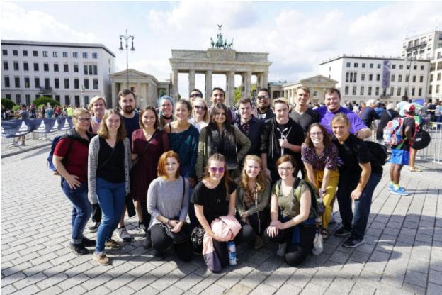 Brandenburg Tor, Berlin – USAC Group Picture