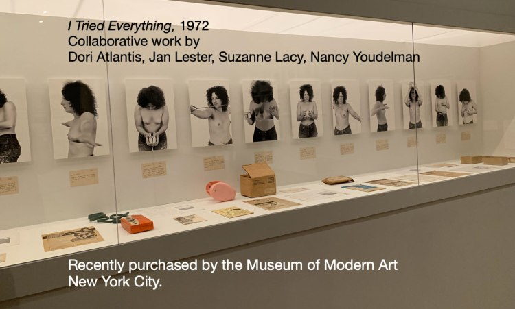 Nancy Youdelman's Facebook post announcing the sale to MOMA.