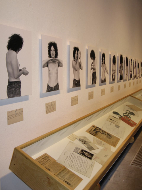 """""""I Tried Everything"""" (1972) in the 2009 """"A Studio of Their Own: The Legacy of the Fresno Feminist Art Experiment"""" exhibit."""