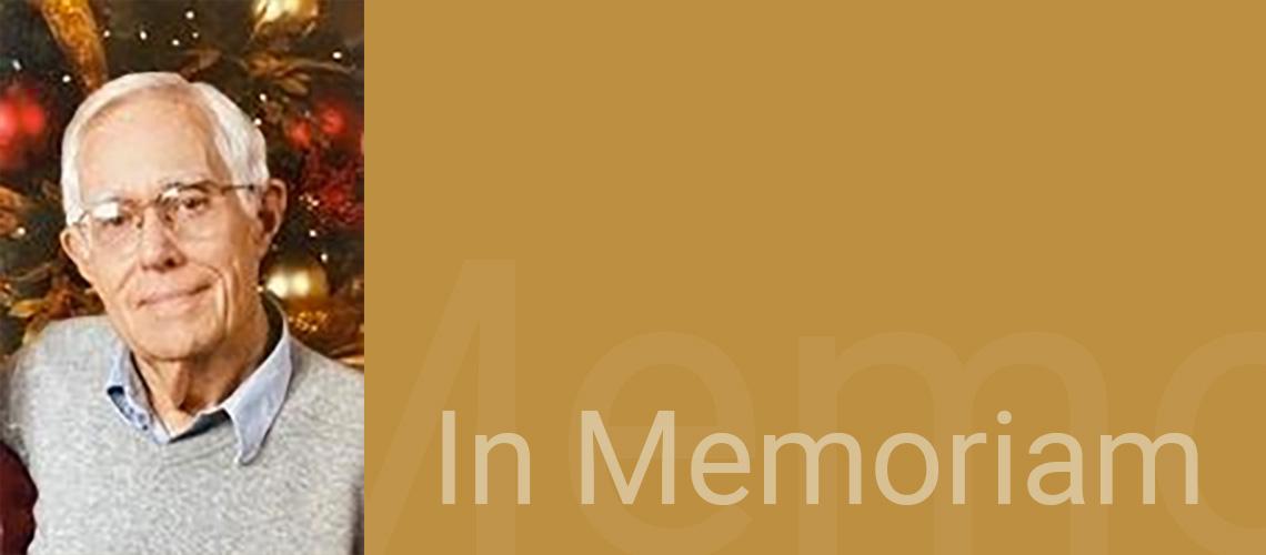 In memoriam - Professor Emeritus Paul Fred Kinzel